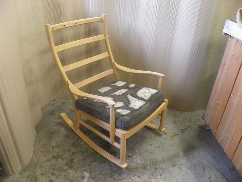 Retro Parker Knoll Rocking Chair 1960's Rustic Chic