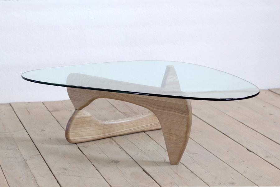 Vintage Retro Mid Century Modernist Side Coffee Table Isamu Noguchi In Ash Unknown Vinterior