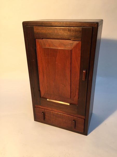 Vintage Wooden Bathroom Or Bedside Cabinet Drawer