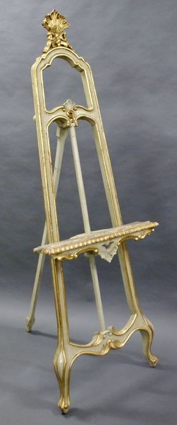 A Late 19 Th Century French Easel