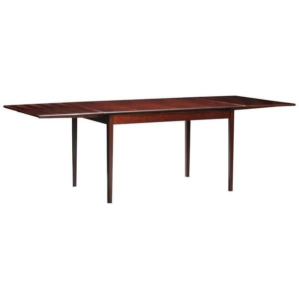 Rosewood Mid Century Modern Danish Dining Table Unknown Vinterior