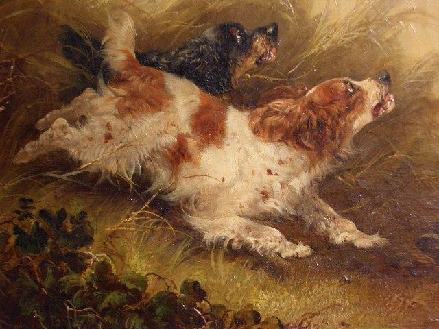 Pair Or Original George Armfield Paintings