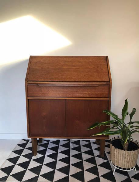 Mid Century Retro Vintage Bureau