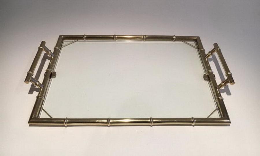Chromed Tray. Circa 1970
