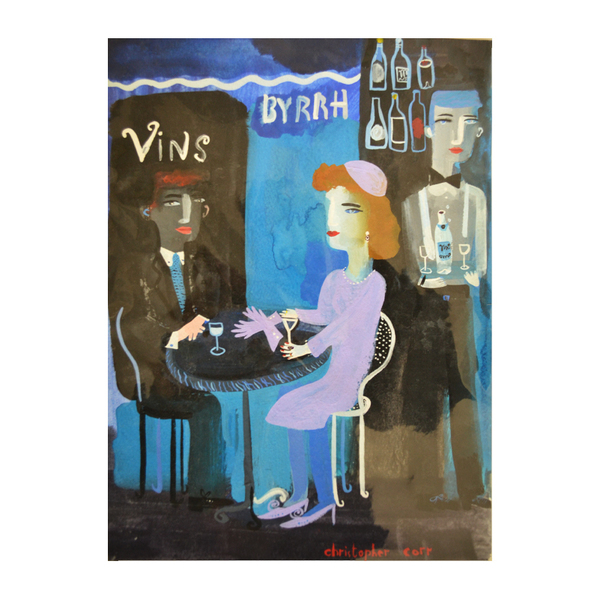 Christopher Corr; Byrrh Bar, Blue Black