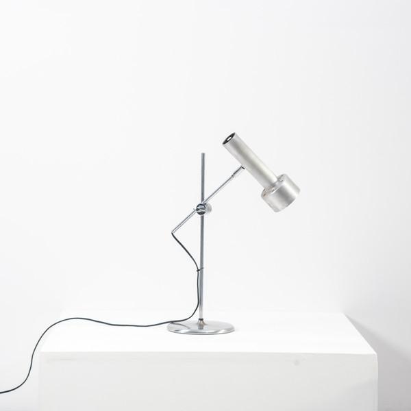 Omi Swiss Brushed Chrome Desk Lamp
