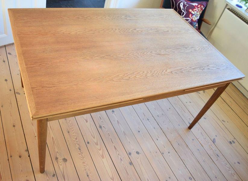 Danish Mid Century Oak Dining Table.1960's.