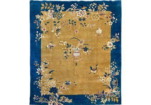 Antique Chinese Art Deco Carpet 3.15m X 2.71m
