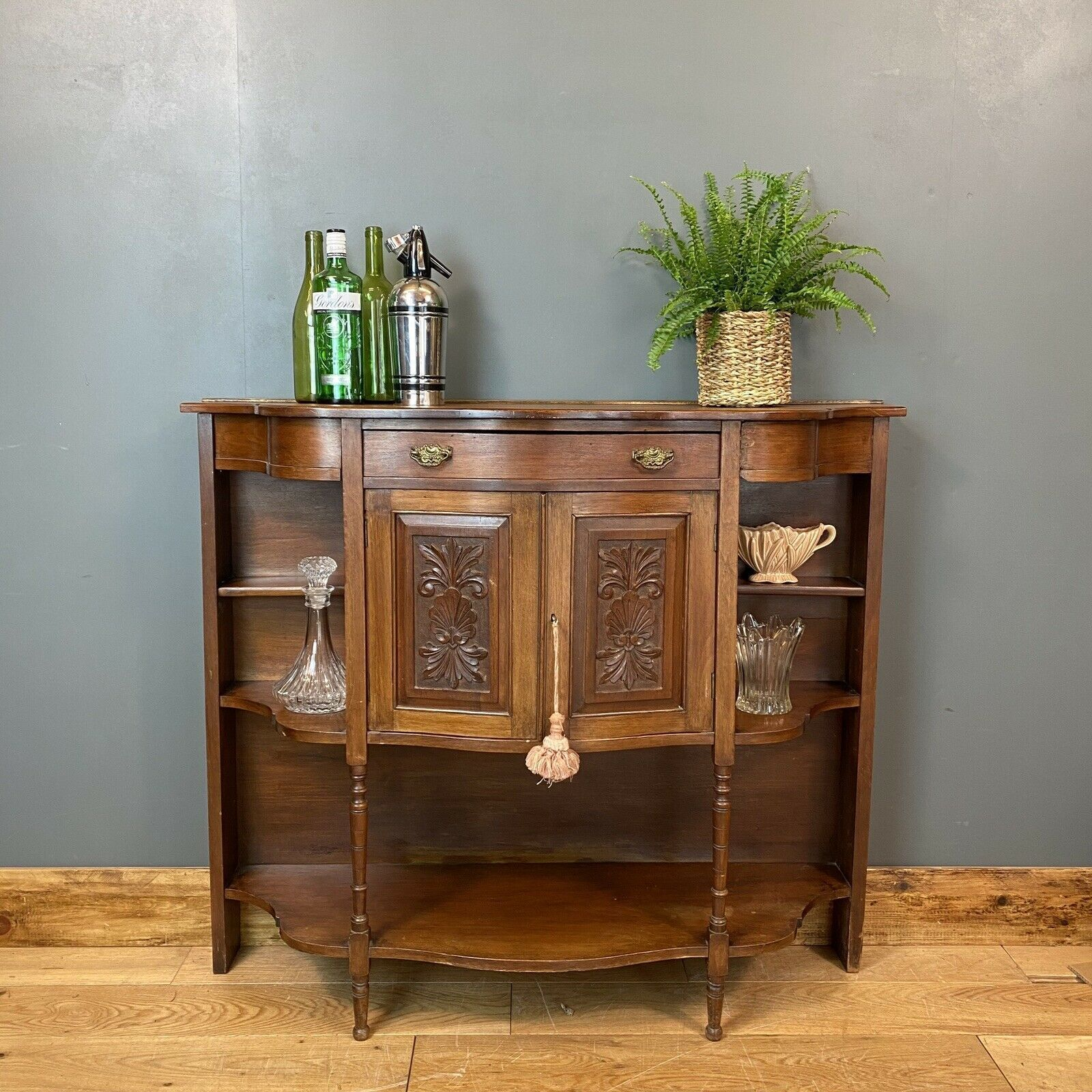 Picture of: Antique Mahogany Sideboard Edwardian Chiffonier Buffet Server Drinks Cabinet Unknown Vinterior