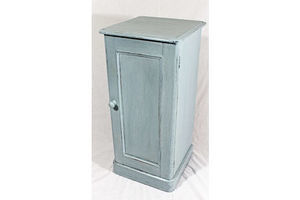 Thumb victorian painted bedside cupboard 0