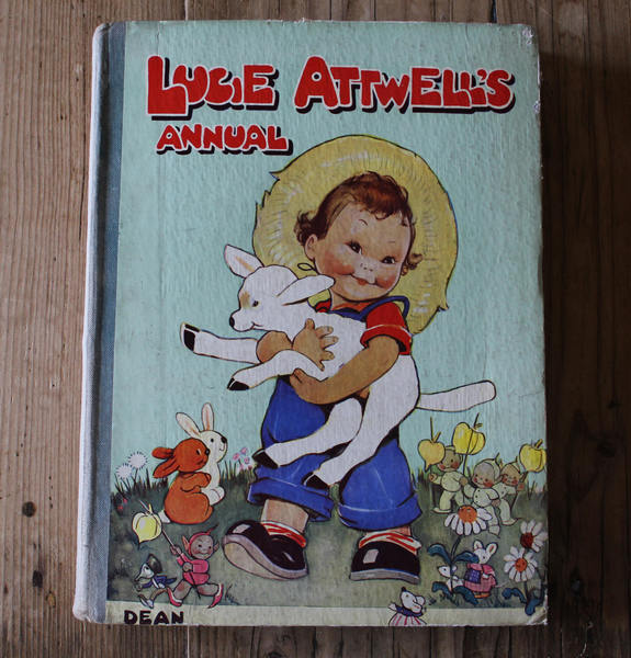 Lucy Attwells Annual   Pre 1950 By Mabel Lucy Attwell.