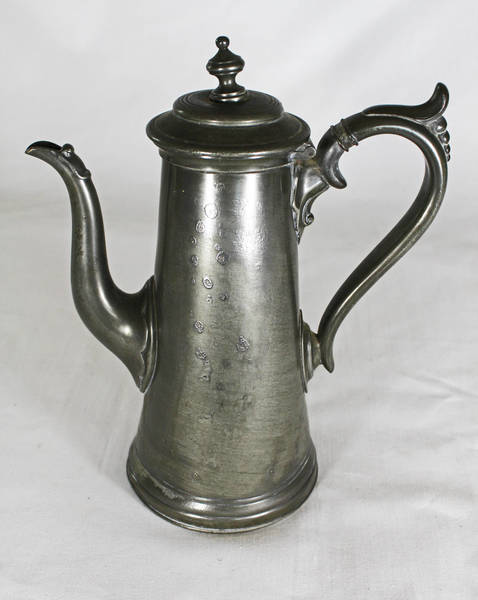 Victorian Pewter Coffee Pot