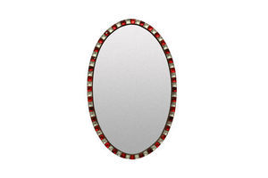 Thumb an irish mirror with rock crystal ruby glass studded border 1970s united kingdom of great britain and northern ireland 0