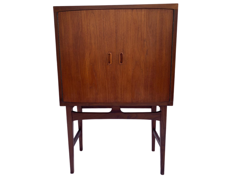 Mid Century Drink Cabinet By Torbjorn Adfal For Mellemstrand Møbelfabrik In Norway 1960's