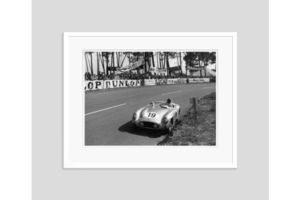 Thumb fangio at le mans 1955 oversize silver gelatin print framed in white 0