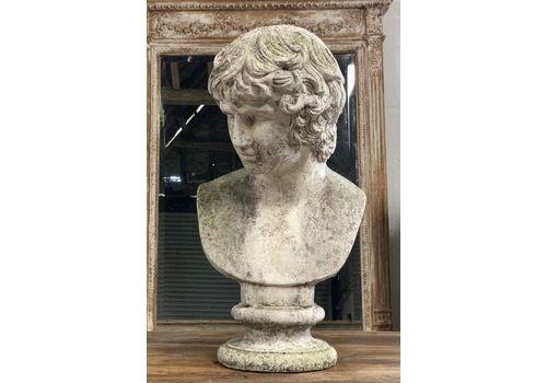 Marble De Latte Roman Bust