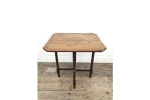 Thumb antique 19th century mahogany folding table or small table unknown 0