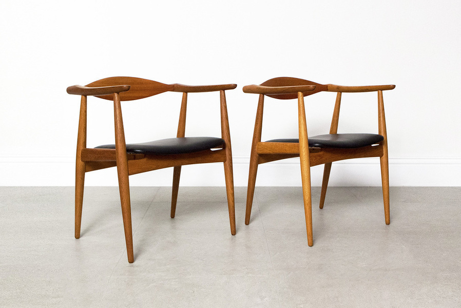 Hans Wegner For Carl Hansen & Son Ch 35 Chairs photo 1
