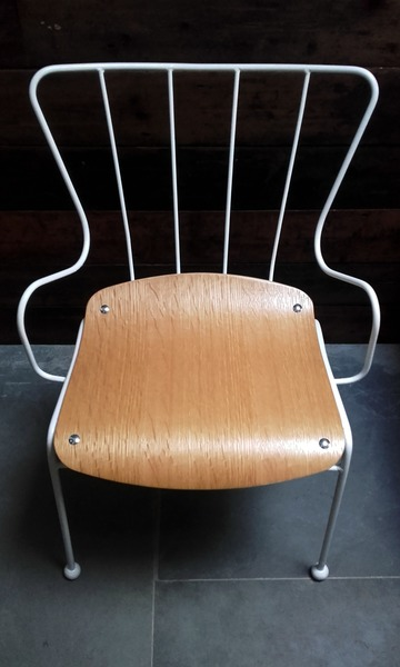 Iconic Mid Century Antelope Chair By Ernest Race For The Festival Of Britain (1951)