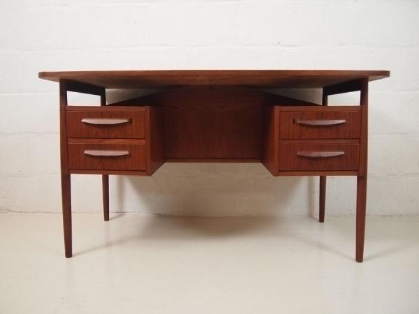 Danish Midcentury Teak Desk