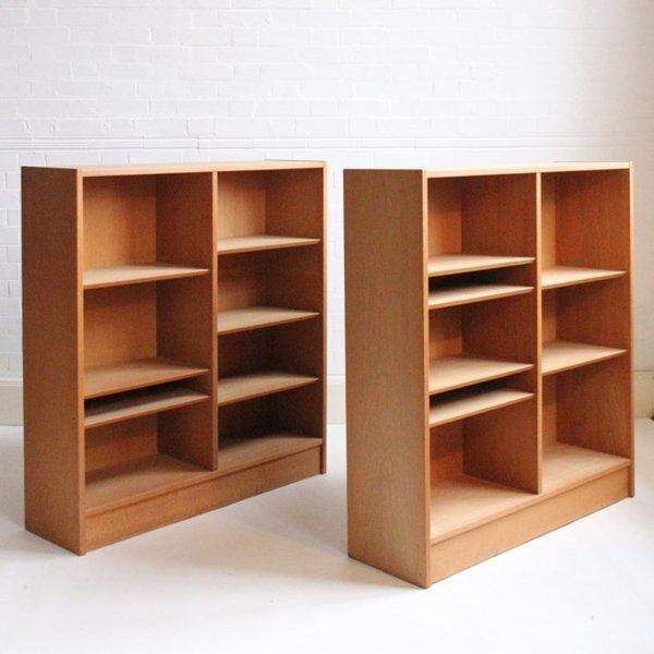 Pair Of Poul Hundevad Book Cases photo 1