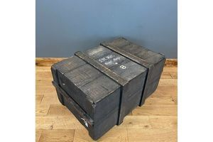Thumb antique royal navy travelling trunk trunk coffee table box storage unknown 0