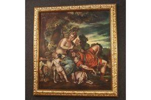 Thumb italian mythological oil painting on canvas 1960s 0