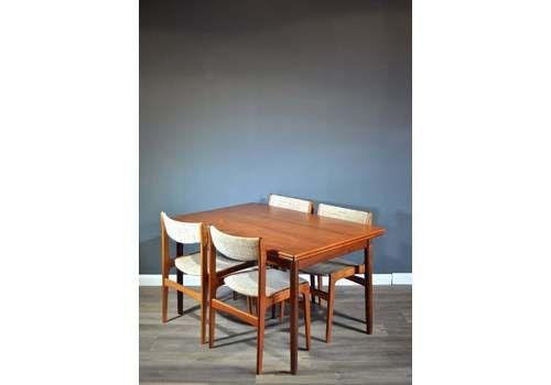 Retro Dining Set Mid Century Dining Sets Vintage Dining Set For Sale Uk Vinterior