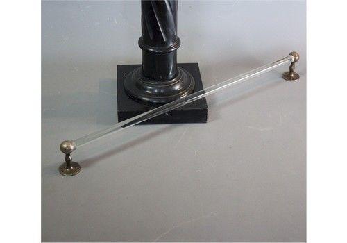 1930's Glass Rod Towel Rail