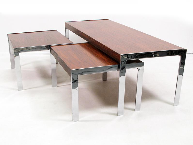 Merrow Associates Modernist Nest Of Tables photo 1
