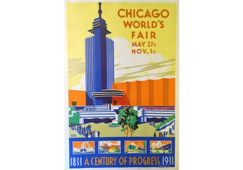 Original Poster: Chicago World's Fair 1933