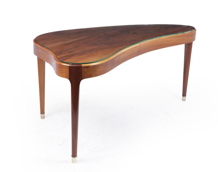 Mid Century Danish Kidney Shaped Coffee Table Vintage Original 1960 S Vinterior