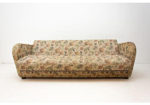 Mid Century Folding Sofa H 363 By Jindřich Halabala For Up Závody, 1950´S