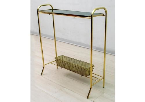 "Gio Ponti Mid Century Modern Italian Spiral Brass Planter ""Casa E Giardino"", 40s"