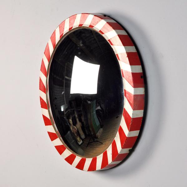 Vintage Traffic Mirror, 1960's