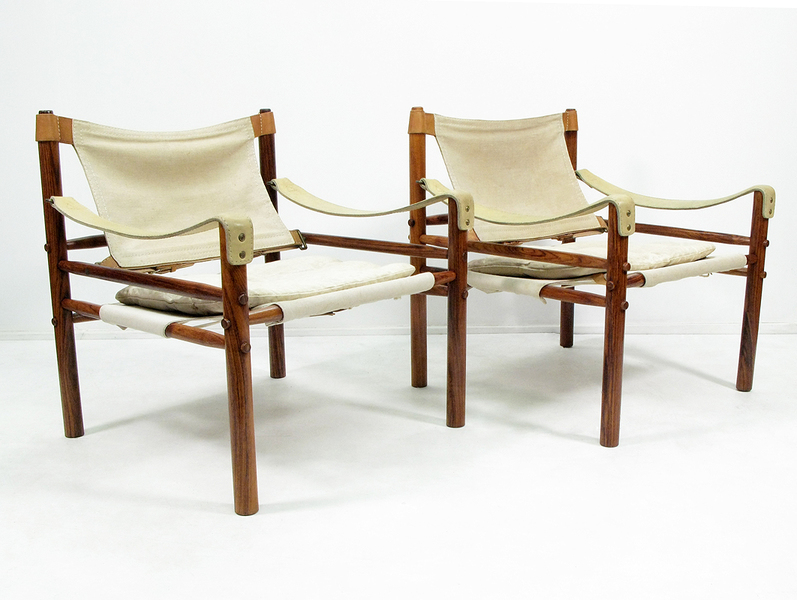 Pair Of Arne Norell Sirocco Chairs photo 1