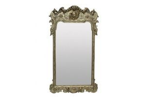 Thumb an english queen anne style carved and silver leaf mirror 1930s unknown united kingdom of great britain and northern ireland 0