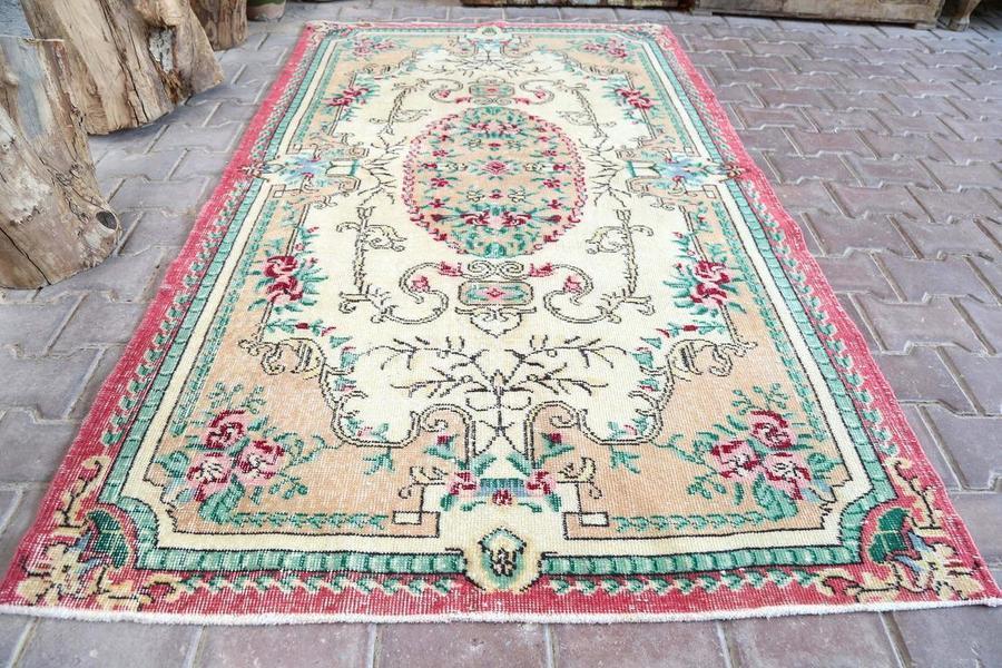 vintage small rug,oushak small rug,turkish small rug,anatolian small rug,antique small rug,area small rug,wall decor rug,boho small rug,Rugs