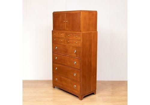 Oak Shop Cabinet C.1900