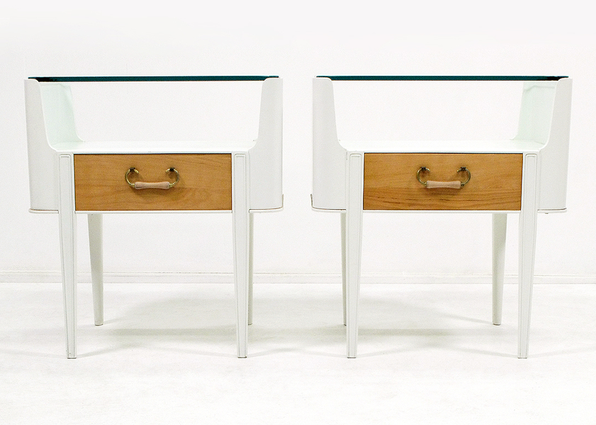 Pair Of Axel Larsson For Bodafors Side Tables