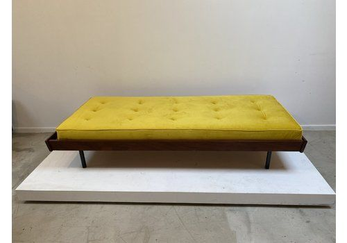 Yellow Velvet Daybed, 1970s