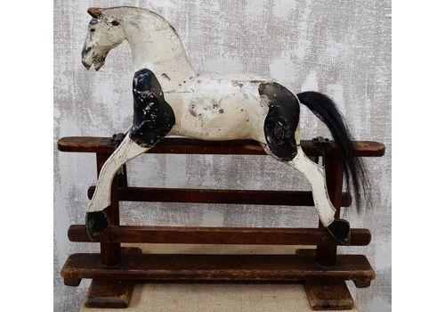Antique Victorian Midsized Rocking Horse
