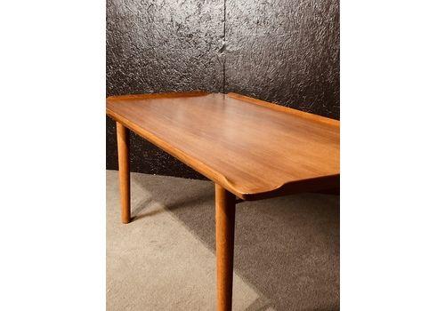 Mid Century Danish Coffee Table Made In Teak