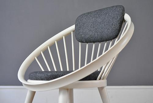 Circle Chair By Yngve Ekström
