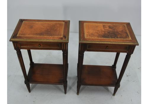 Pair Of Louis XVI Style Bedside Tables, 1900