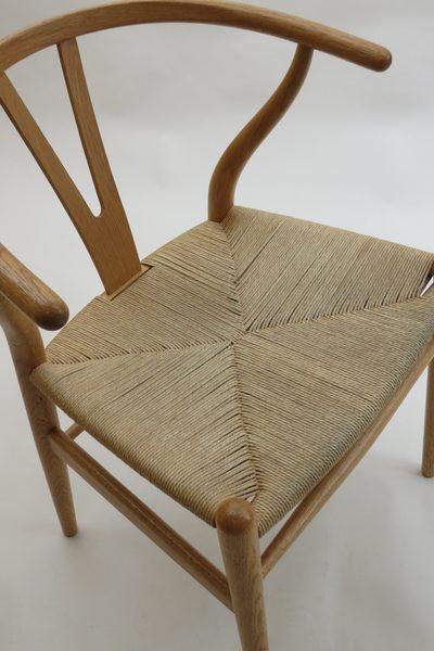 Hans Wegner Wishbone Chair By Carl Hansen In Oak, 1950s