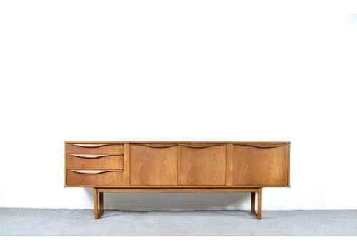Midcentury Teak Sideboard / Long John By Stonehill. Vintage Modern / Retro / Danish Style.