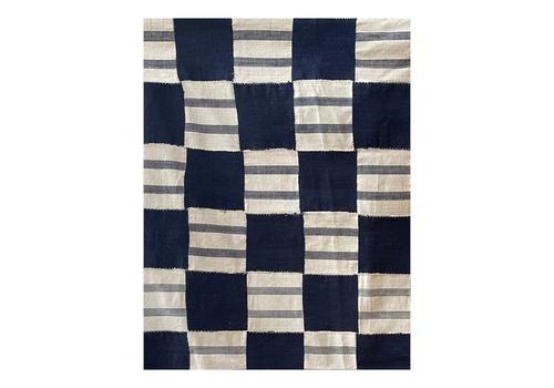 Heavy Cotton Geometric Kente Cloth