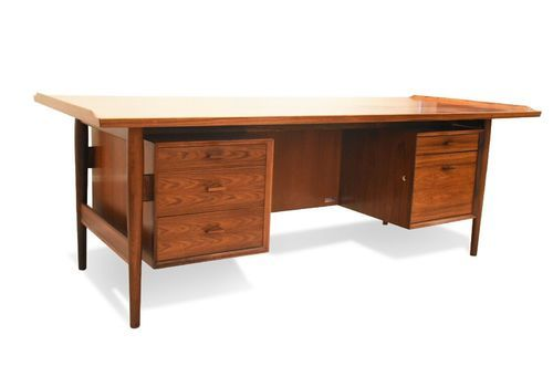 Arne Vodder Rosewood Desk For Sibast, 1960s Model 207