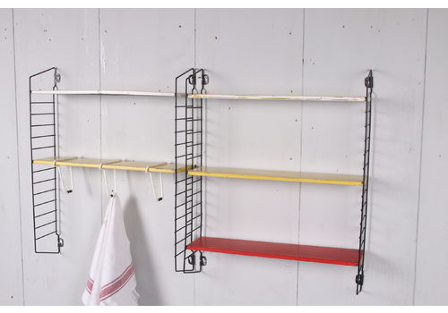 Tomado Wall Rack With Original Towel Clips 1960s